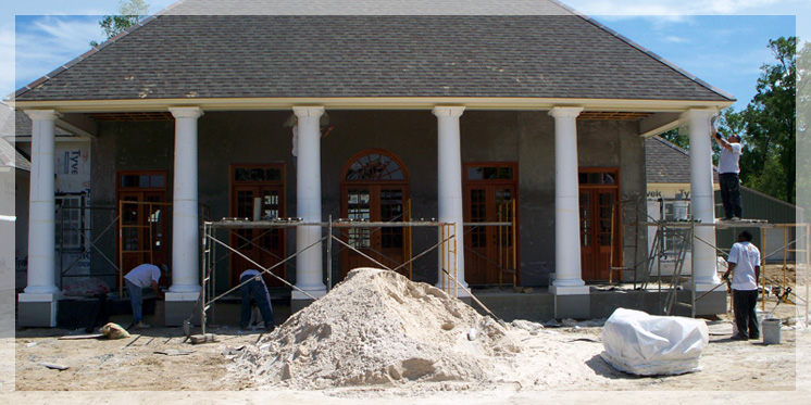 Stucco services columns for Stucco columns